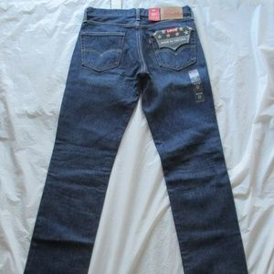 Levi's 511 Jeans 045112301 Slim White Oak Blue